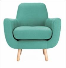 Poltrona Lucite Green, colori Pantone primavera estate 2015 per la casa