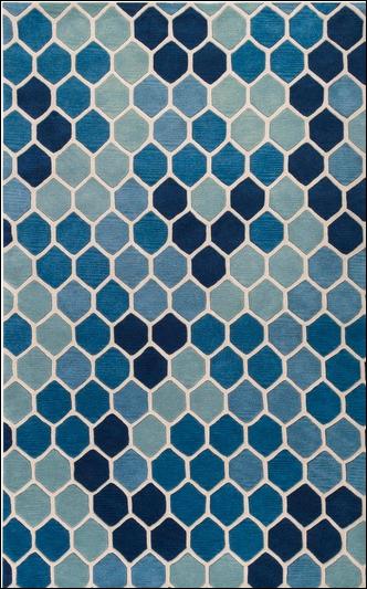 Tappeto Paul Marrot, Dusk Blue Pantone 2015 colori casa
