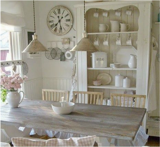 Beautiful Shabby Chic Cucina Pictures - Ideas & Design 2017 ...