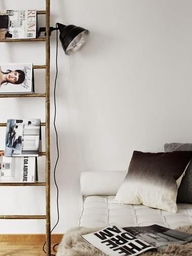 Scala porta riviste camera da letto o soggiorno