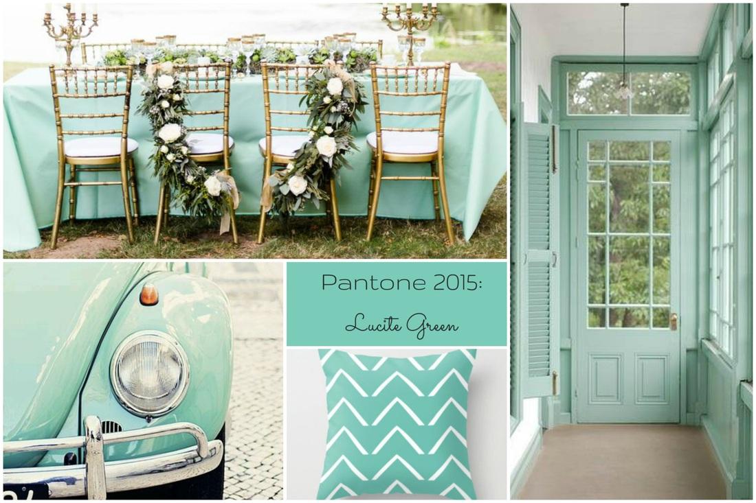 Colori Pantone primavera 2015 Lucite Green