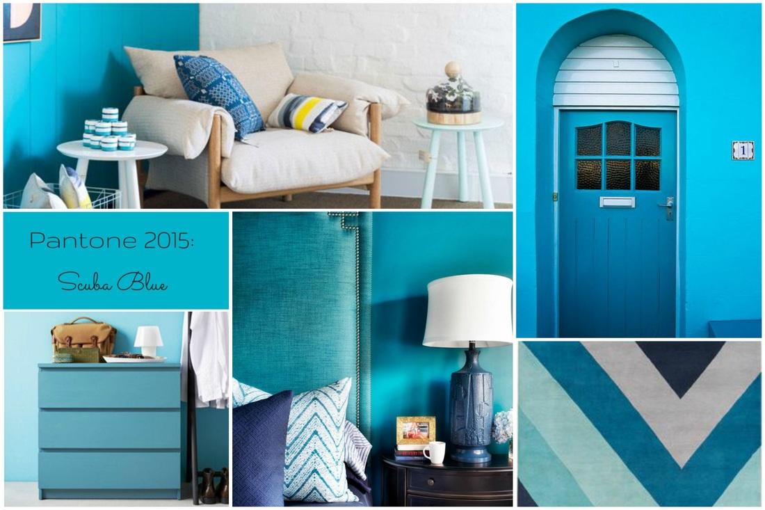 Scuba Blue, Pantone colori trend primavera 2015