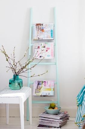 Porta riviste per soggiorno