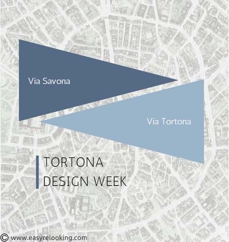 Tortona Around Design, Design Week mappa Fuorisalone 2015
