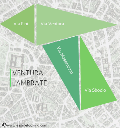 Ventura Lambrate Design District mappa Fuorisalone