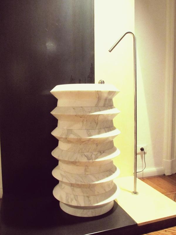 Lavabo in marmo da Alfa Marmi