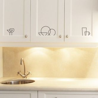 stickers per le ante della cucina