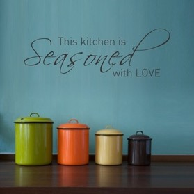 come scegliere gli stickers murali in cucina