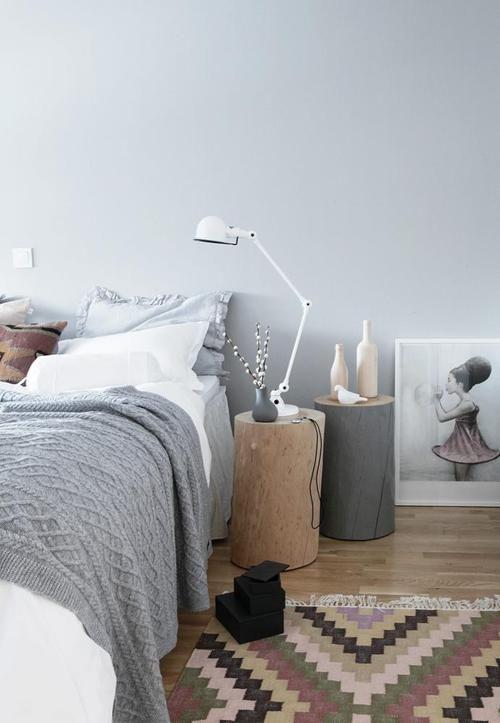 Arredare la camera da letto con i grigi