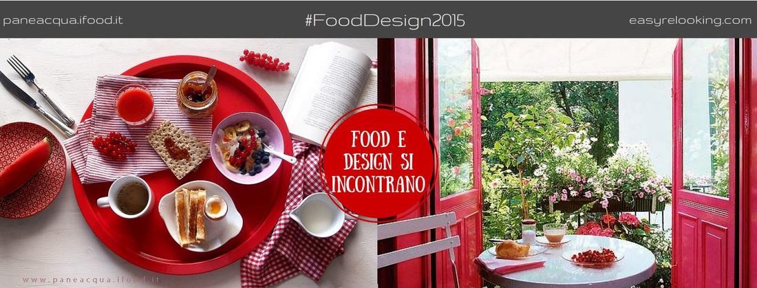 FoodDesign2015 Arredare un terrazzo o balcone in rosso