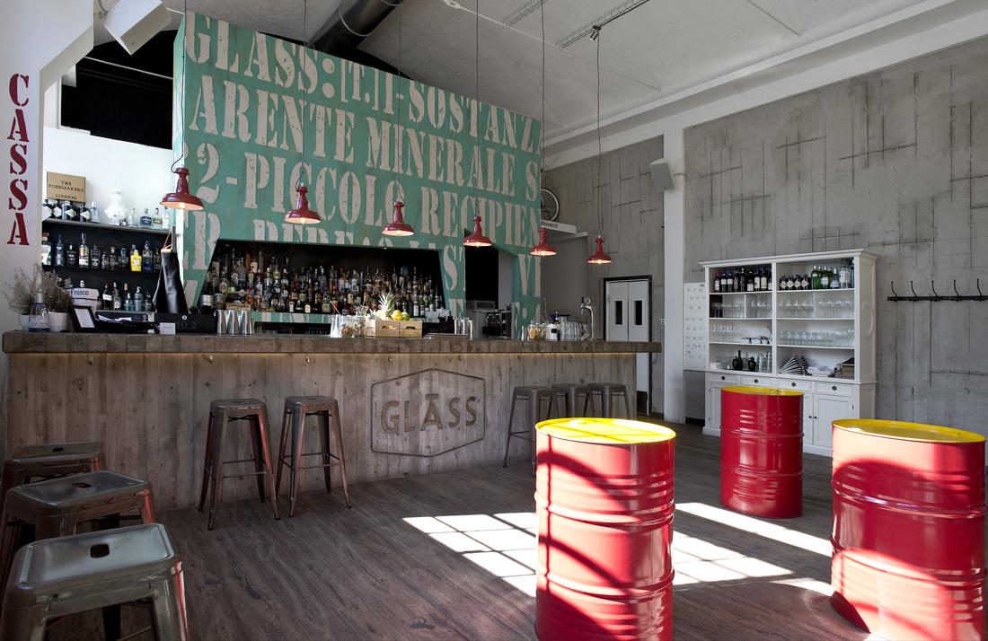 Arredamento bar stile industriale trattamento marmo cucina for Artic arredo bar