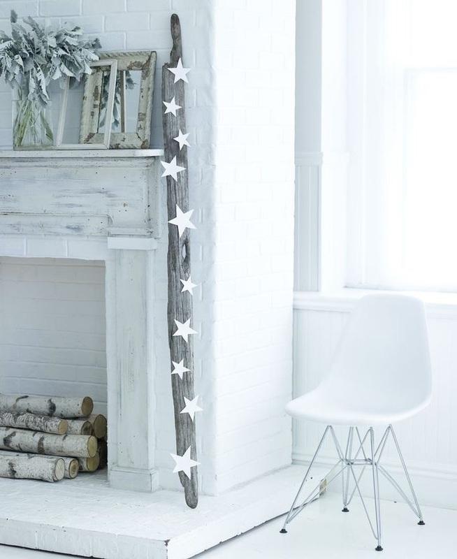 Arredi per Natale total white
