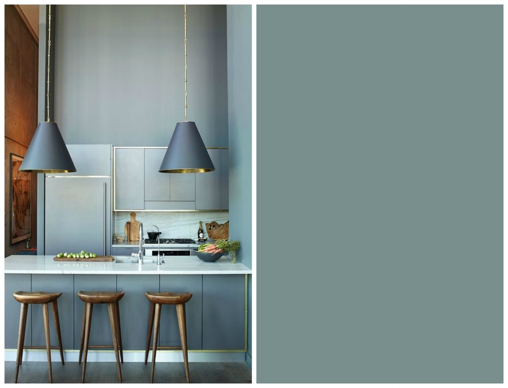 Cucina color Oval Room Blue Farrow and Ball