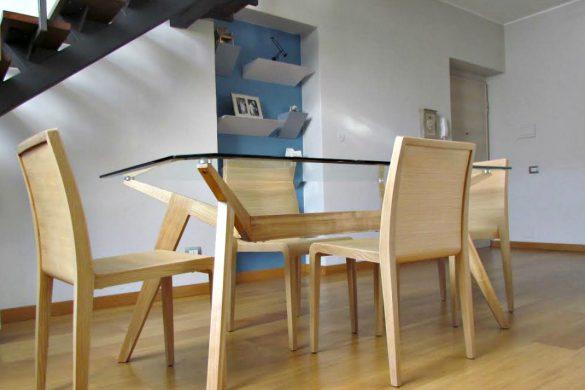 Progetto cameretta bambina stile nordico con cabina for Arredare nicchia soggiorno