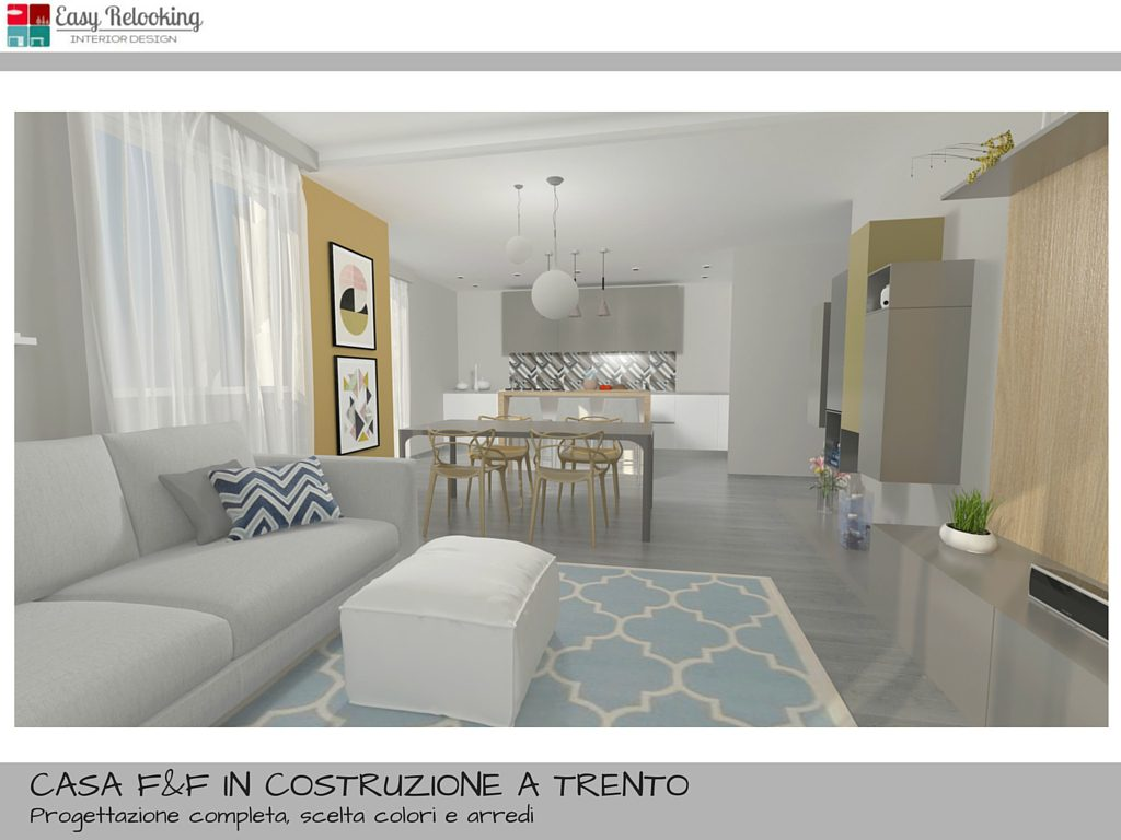 Come arredare un open space cucina e soggiorno la casa di for Interior design moderno