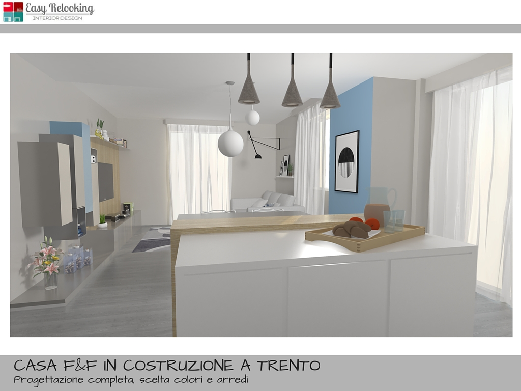 Simple arredare soggiorno cucina idee per luopen space for Idee open space