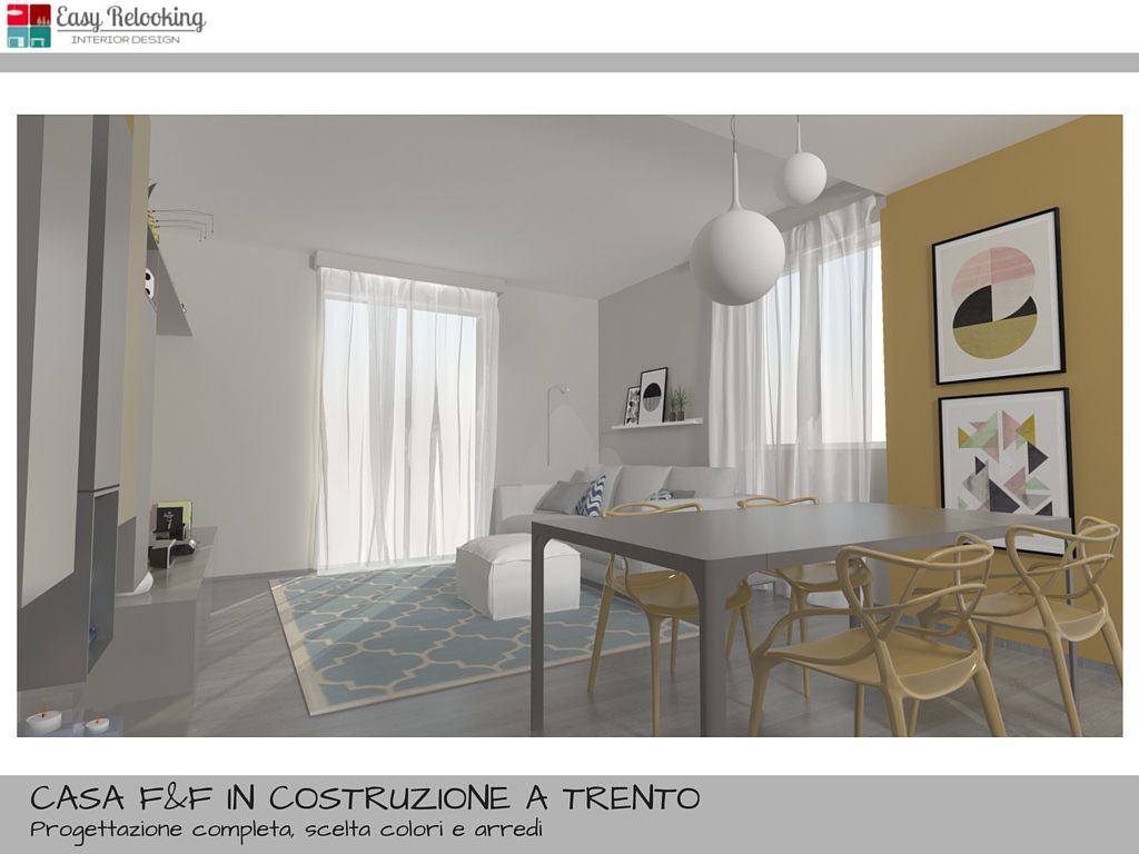 Come arredare un open space cucina e soggiorno: la casa di F&F ...