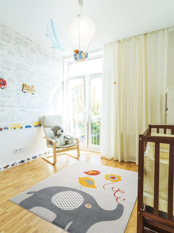Tappeto progetto camera bambina