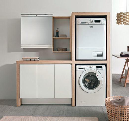 Arredare la zona lavanderia tra design e funzionalit - Ikea lavanderia mobili ...