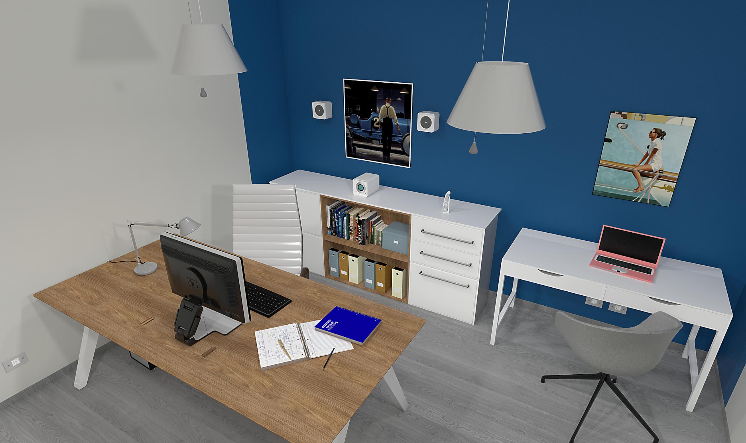 Ikea Zona Ufficio : Arredare la zona ufficio in casa stando attenti al budget