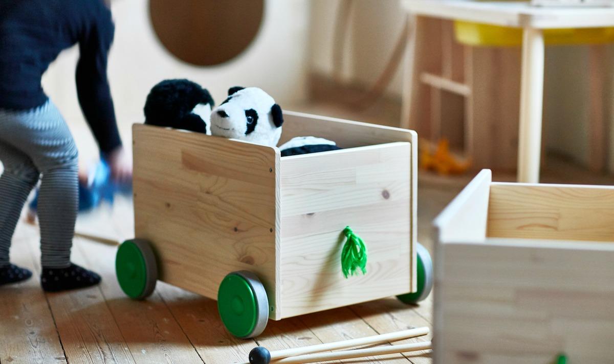 Arredi in legno per la cameretta: FLISAT di Ikea e un brand ...