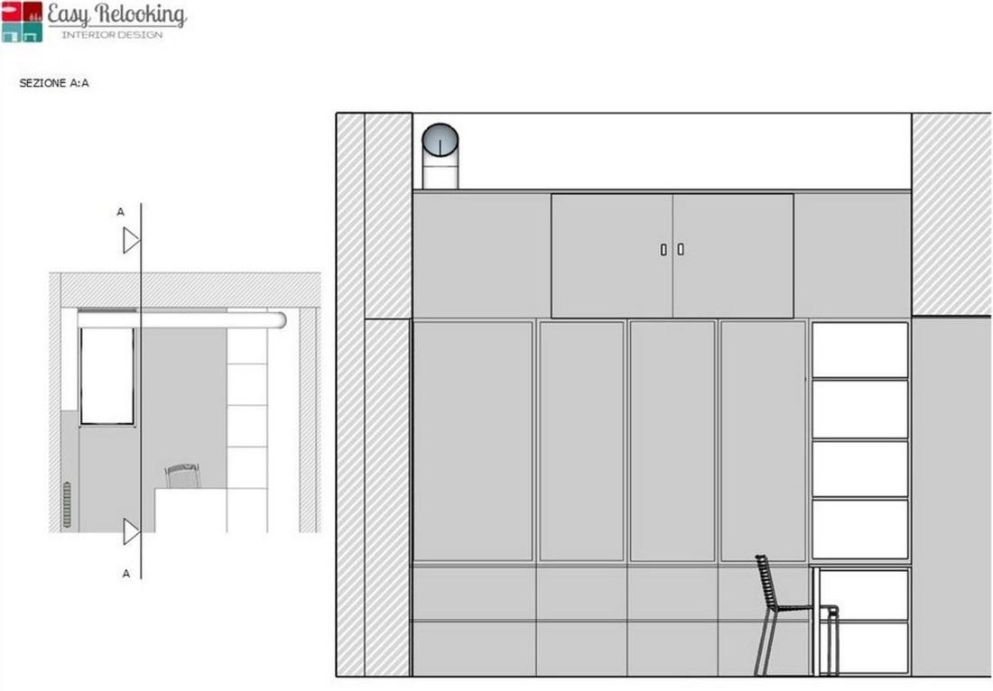 Progettazione interni loft Milano