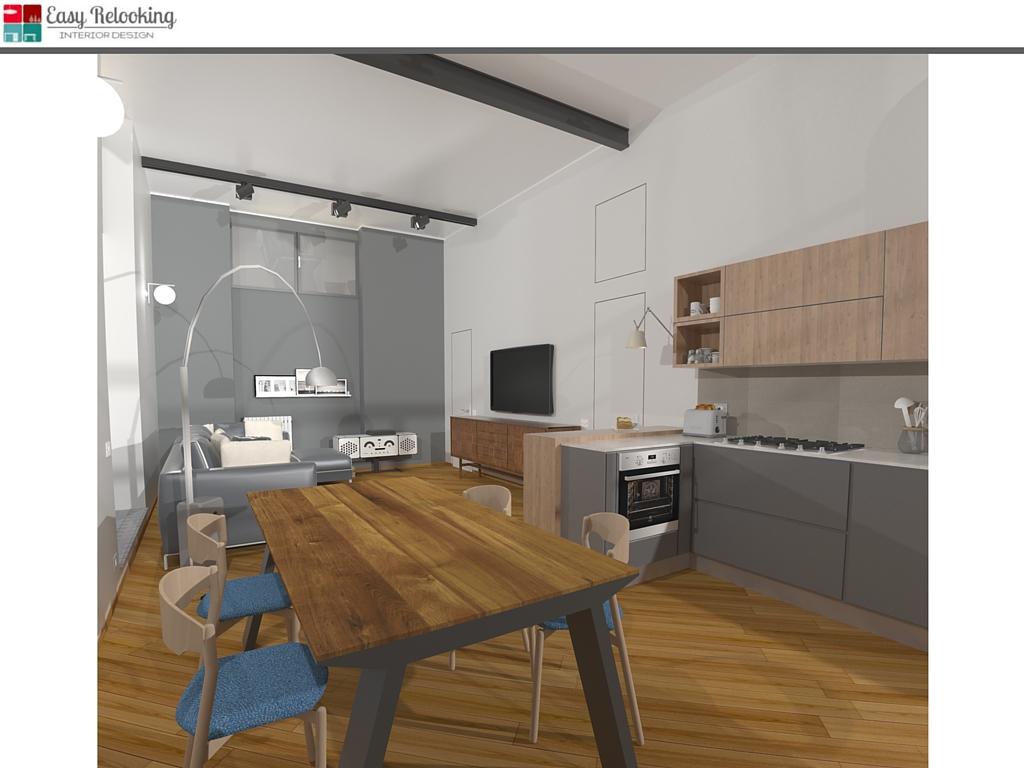 Progettazione loft industrial