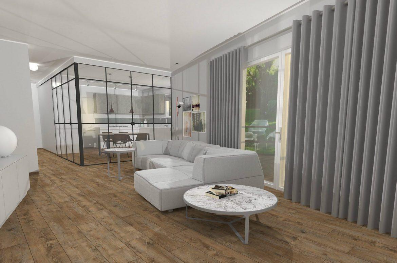 Unifamiliare su due piani progetto piano rialzato for Casa su due piani progetto