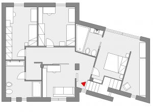 Unifamiliare su due piani progetto primo piano for Casa su due piani progetto