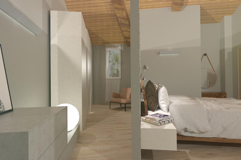 Unifamiliare su due piani progetto primo piano - Casa su due piani ...