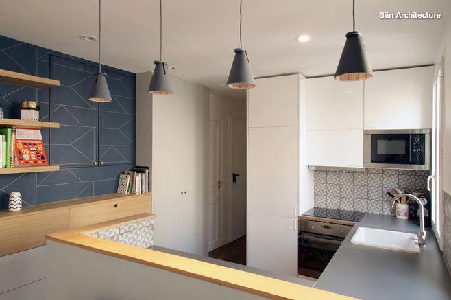 Storie di case ristrutturazione a basso costo a parigi - Cucina a basso costo ...