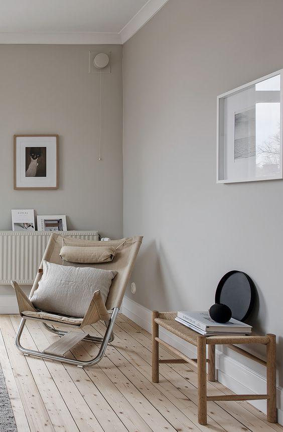 Lagom new trend for interiors easyrelooking for Zandkleur muur