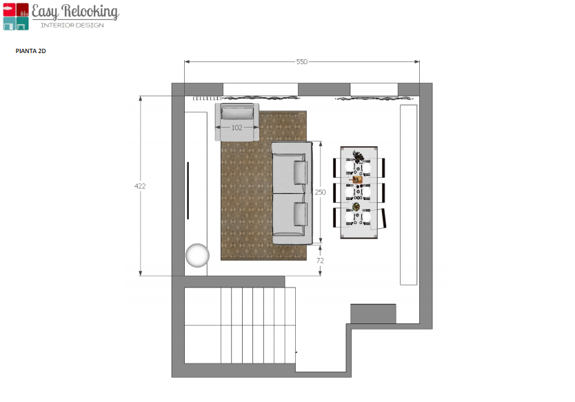 Relooking soggiorno anche a prova di cane easyrelooking for Design della mappa di casa