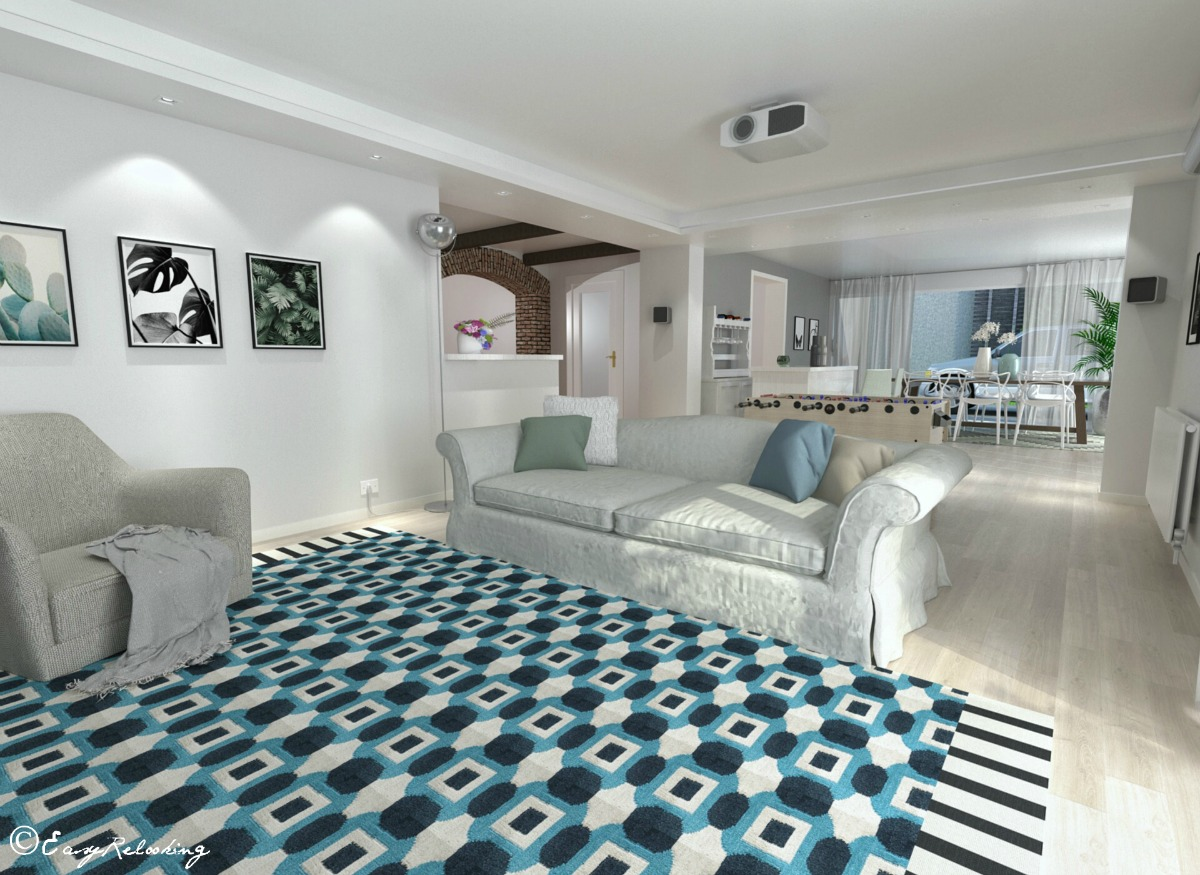 Nordic style basement room the project easyrelooking
