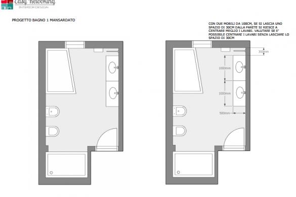 Progetto ingresso e bagni della villa a Trento: il risultato - easyrelooking