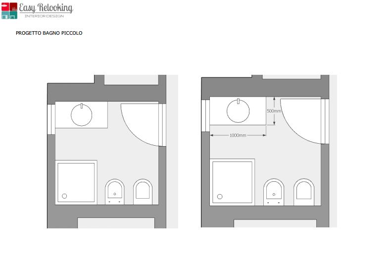 Interesting per questo bagno il progetto prevedeva un - Progetto bagno online ...