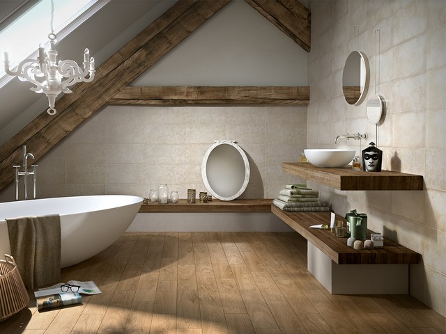 10 consigli per un bagno da sogno easyrelooking - Legno in bagno ...