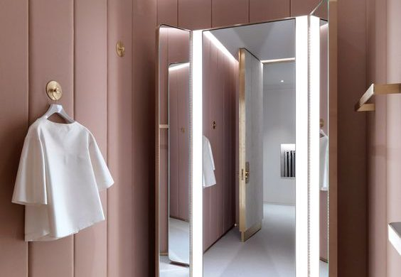 Camera da letto rosa pastello - easyrelooking