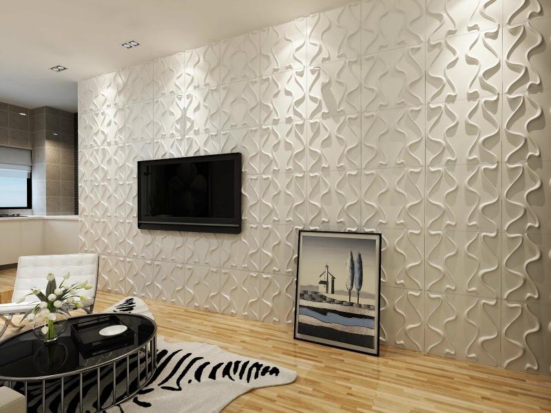 La boiserie moderna per rinfrescare gli ambienti - Pannelli decorativi murali ...