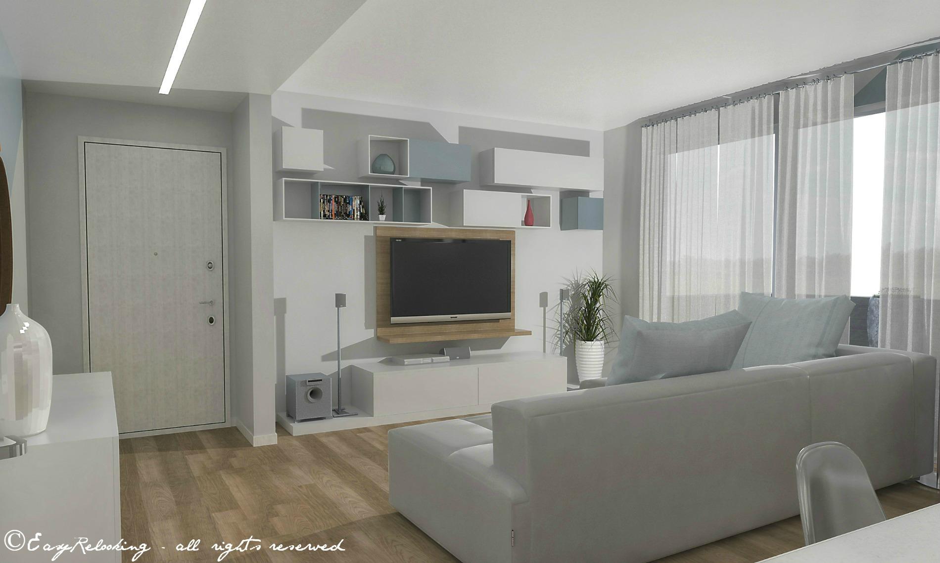 Colori tenui per pareti for Colori moderni per interni