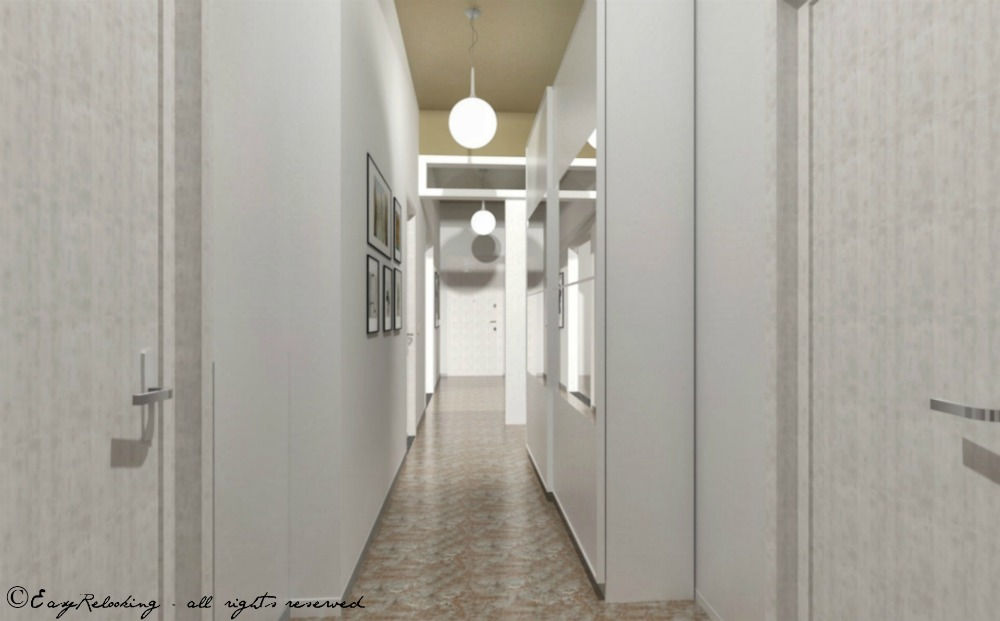 Tinteggiare Corridoio Lungo E Stretto : Corridoio lungo e stretto colore e accessori easyrelooking