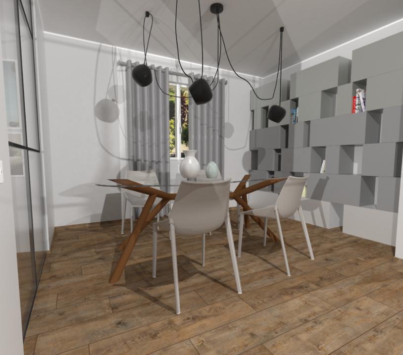 Unifamiliare su due piani progetto piano rialzato for Incredibili case a un piano