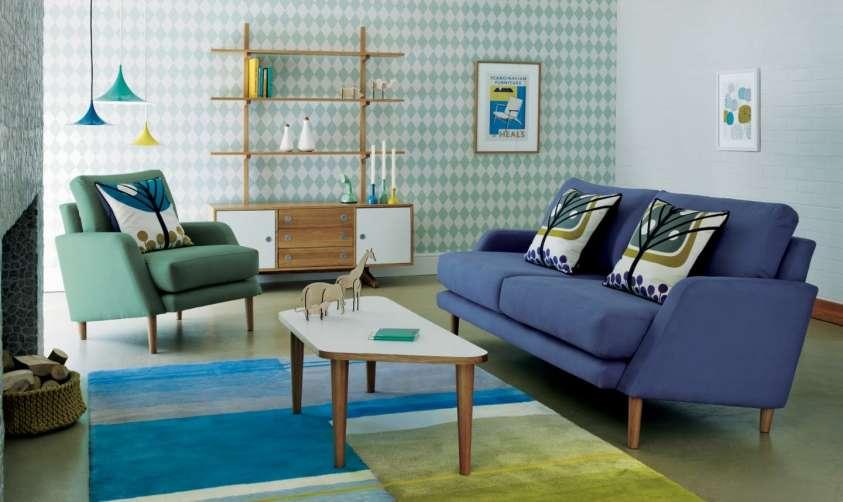 Arredamento anni 50 design e colori easyrelooking - Mobili vintage anni 60 ...