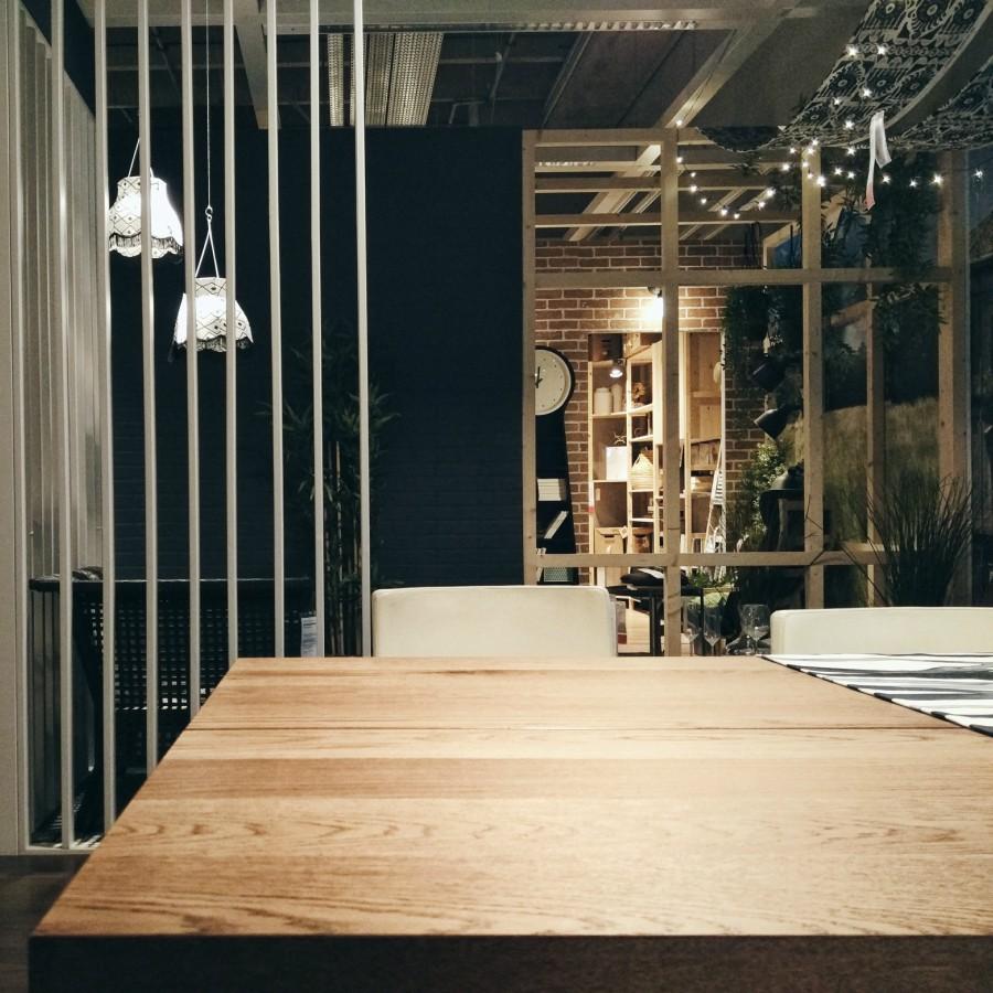 Idee blog arredamento part 4 - Tavolo ikea legno ...