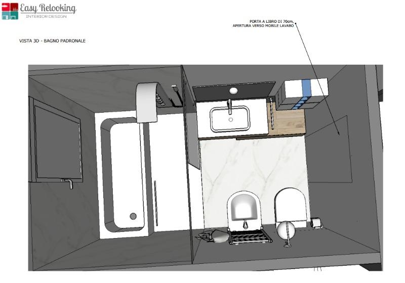 Progetto Bagno Piccolo - Idee Per La Casa - Syafir.com