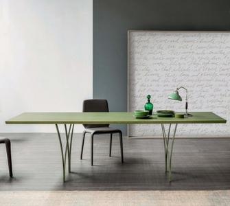 Tavolo bonaldo verde bosco