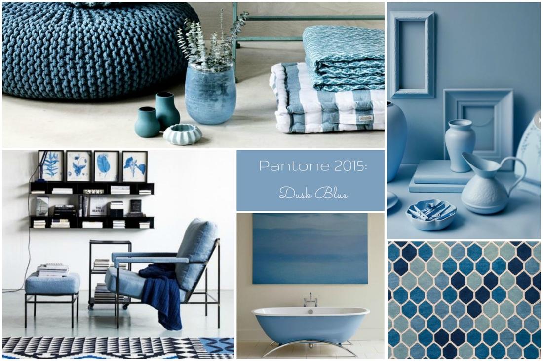 Colori Pantone primavera estate 2015 per la casa, dusk blue