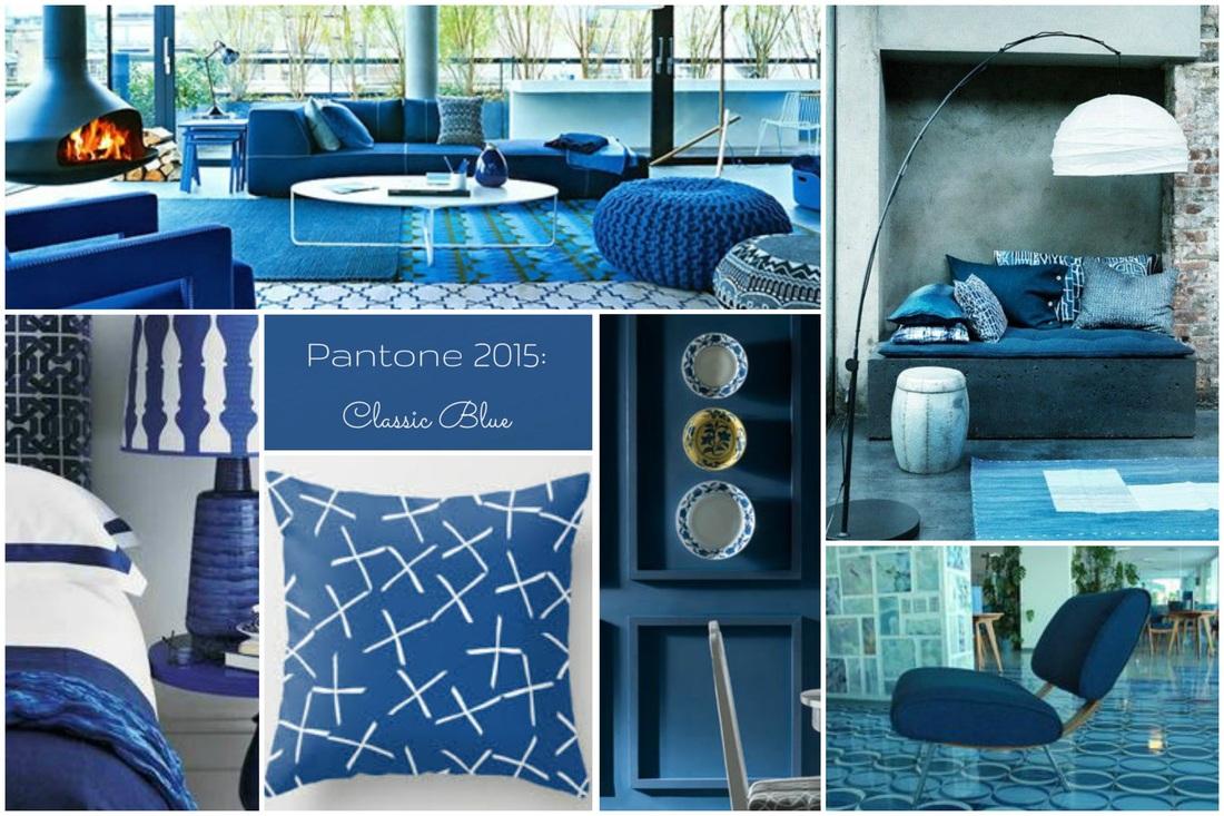 colori Pantone primavera 2015 per la casa, classic blue