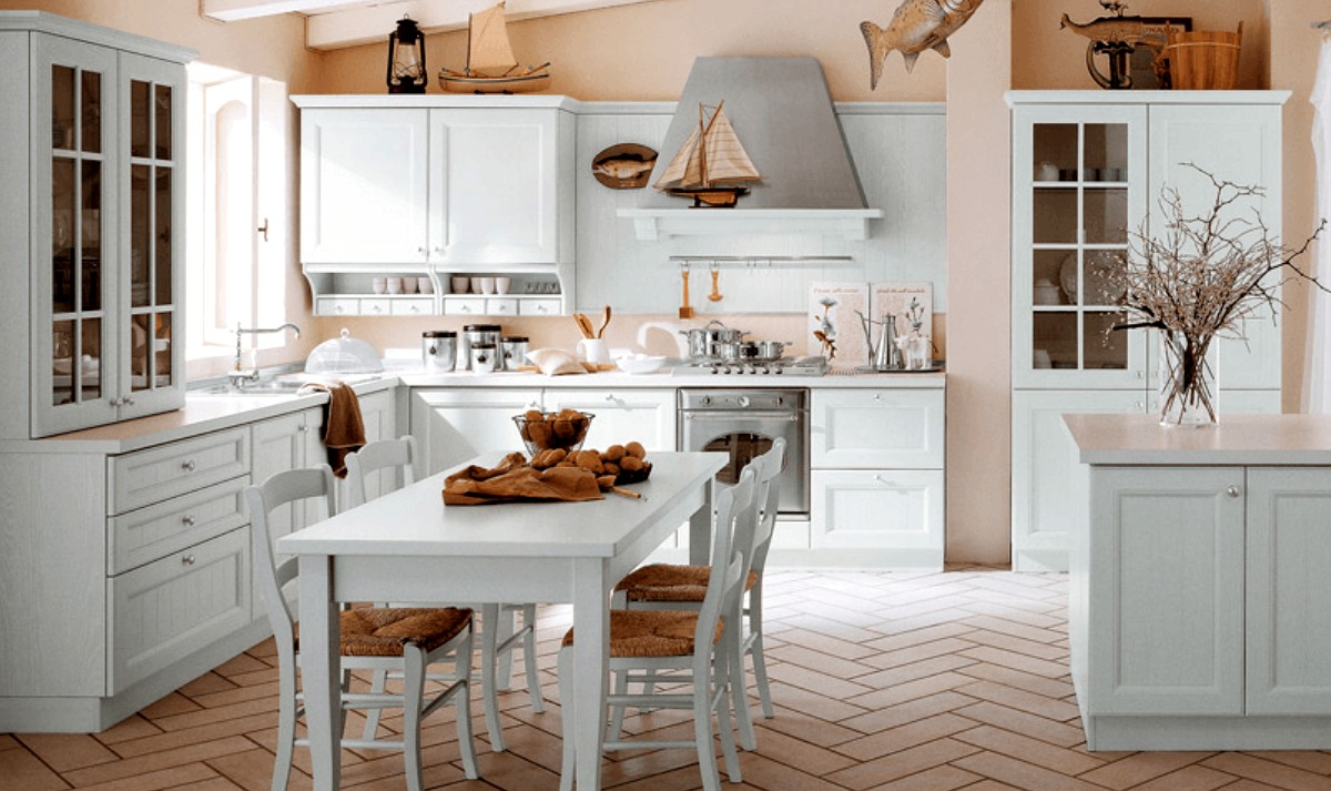 Come ti arredo stile shabby chic in cucina easyrelooking