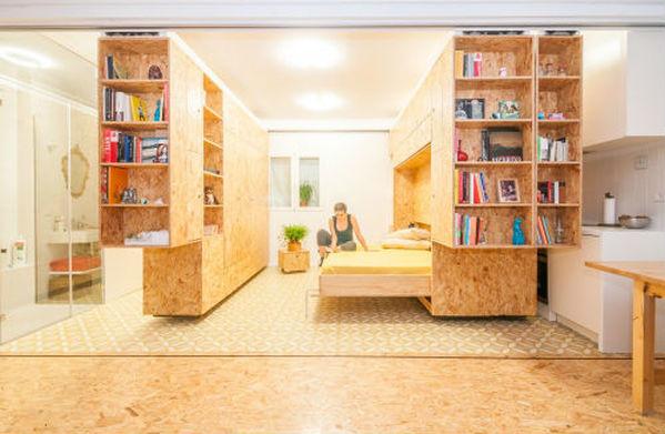 ottimizzare gli spazi in un monolocale